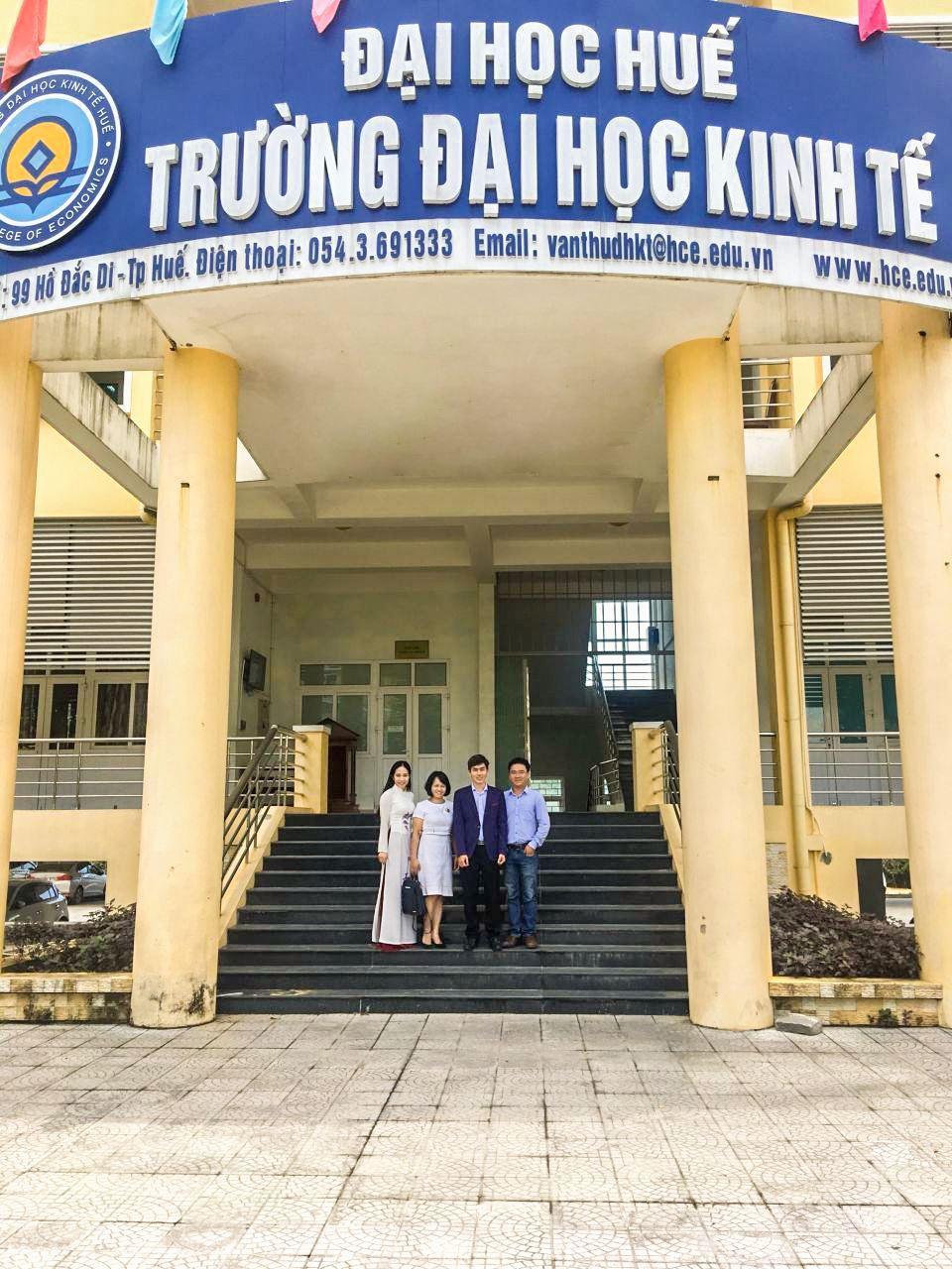 BPO.MP Tham Dự Hội Thảo Hướng Nghiệp Tại ĐH Kinh Tế Huế