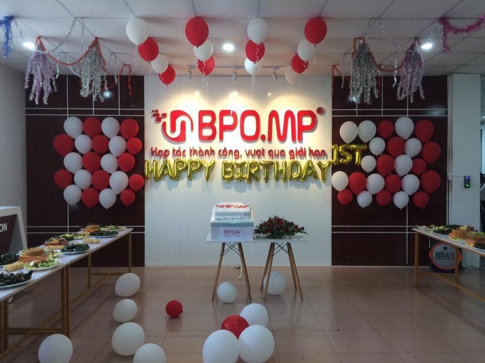 BPO.MP Kỷ Niệm 1 Năm Thành Lập Công Ty