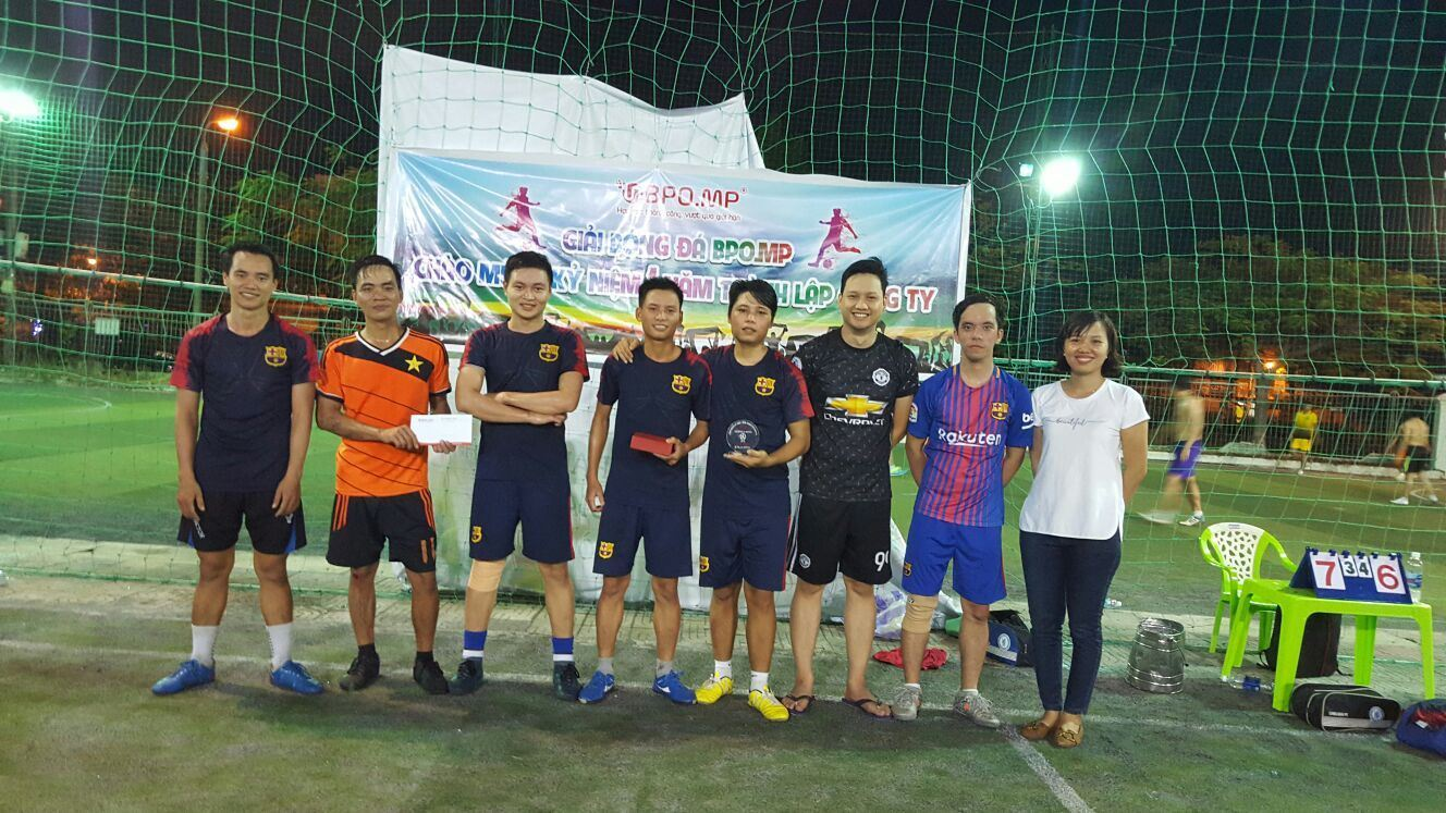 Football Competition Welcomed BPO.MP's 1st Anniversary Of Establishment