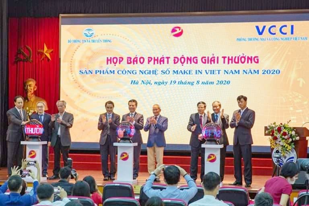 "BPO.MP JOINING ONLINE PRESS CONFERENCE ""DIGITAL TECHNOLOGY PRODUCTS MAKE IN VIETNAM 2020"""